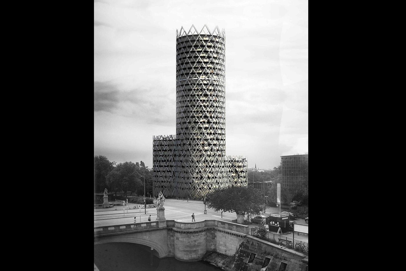 Tour Berlin - Office tower