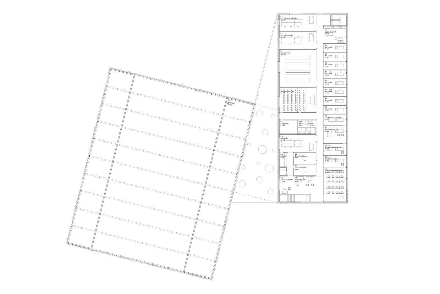 Plan de l'étage | Service de la circulation et de la navigation, Sion