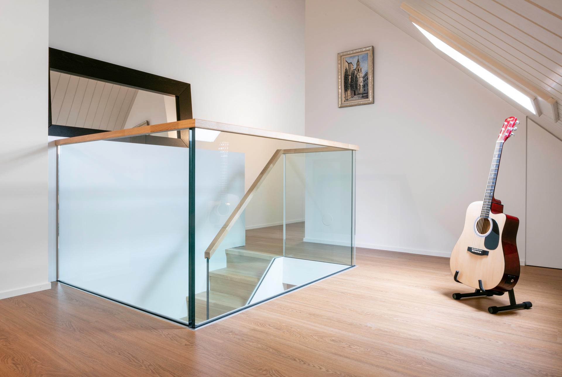 Aménagement de combles - Hall - shape architecture Lausanne