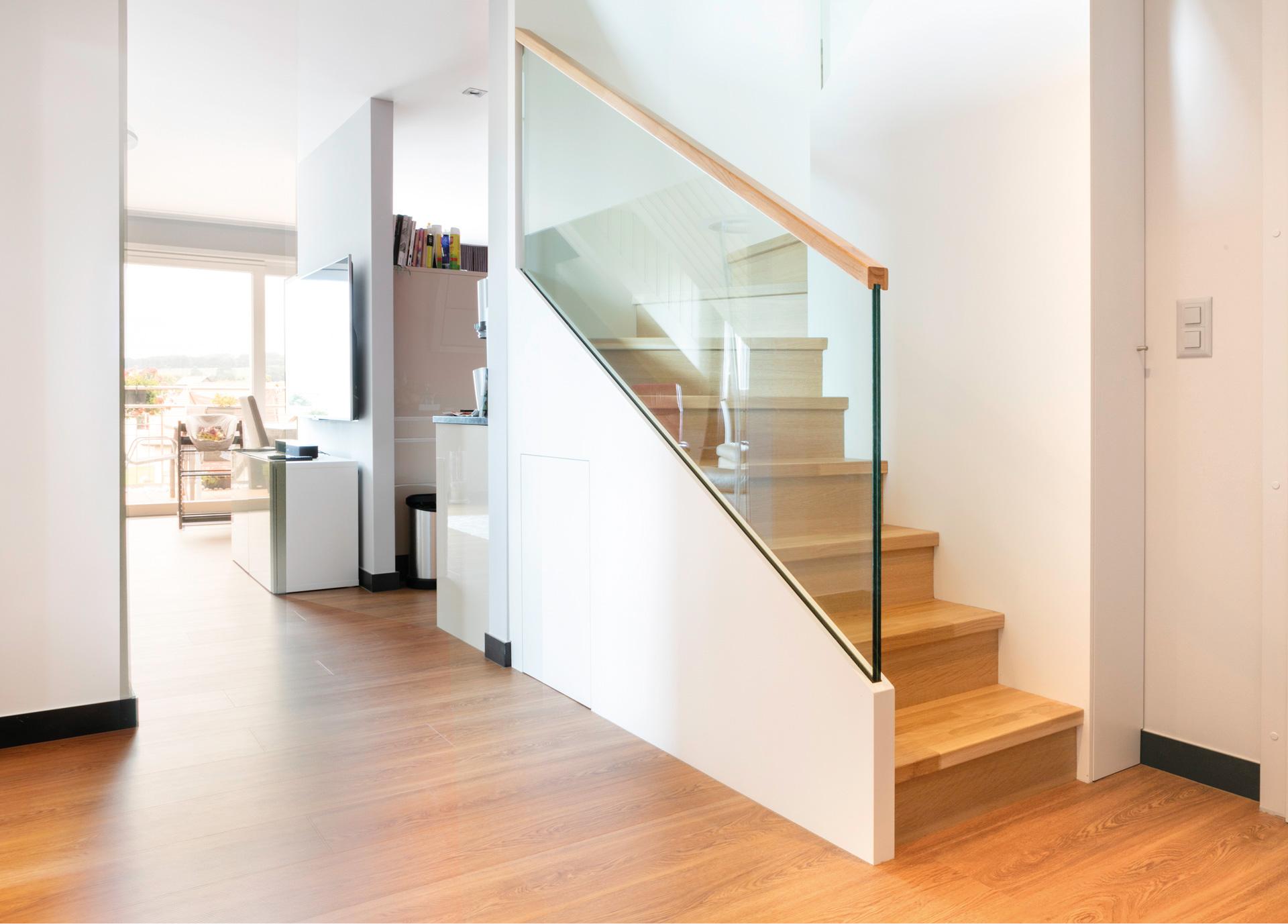 Aménagement de combles - Escalier - shape architecture Lausanne