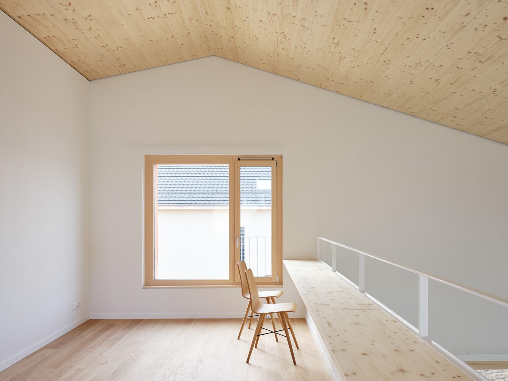 Maison R - mezzanine - shape architecture