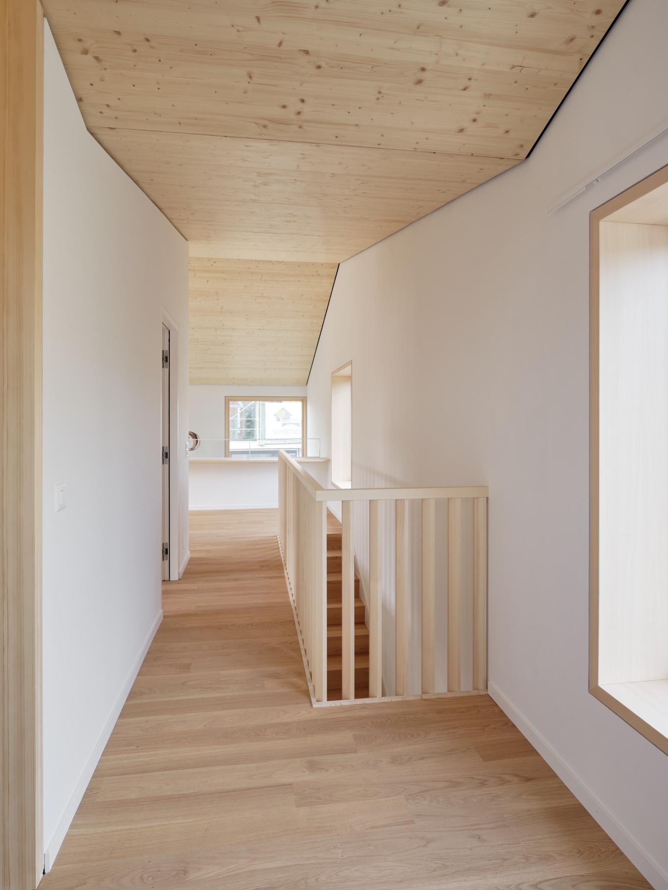Maison R - toiture en bois - shape architecture