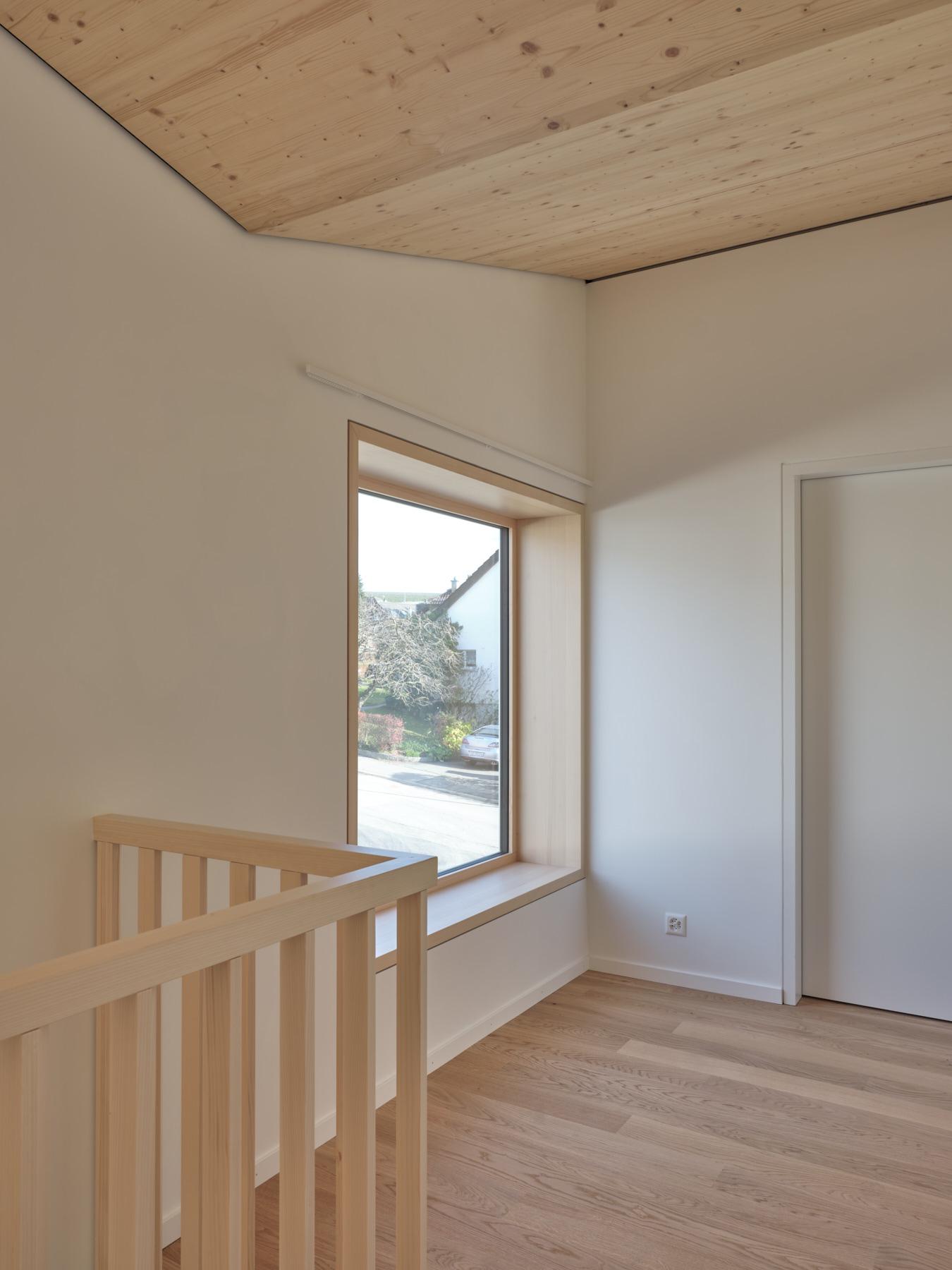 Maison R - fenêtre habitable - shape architecture