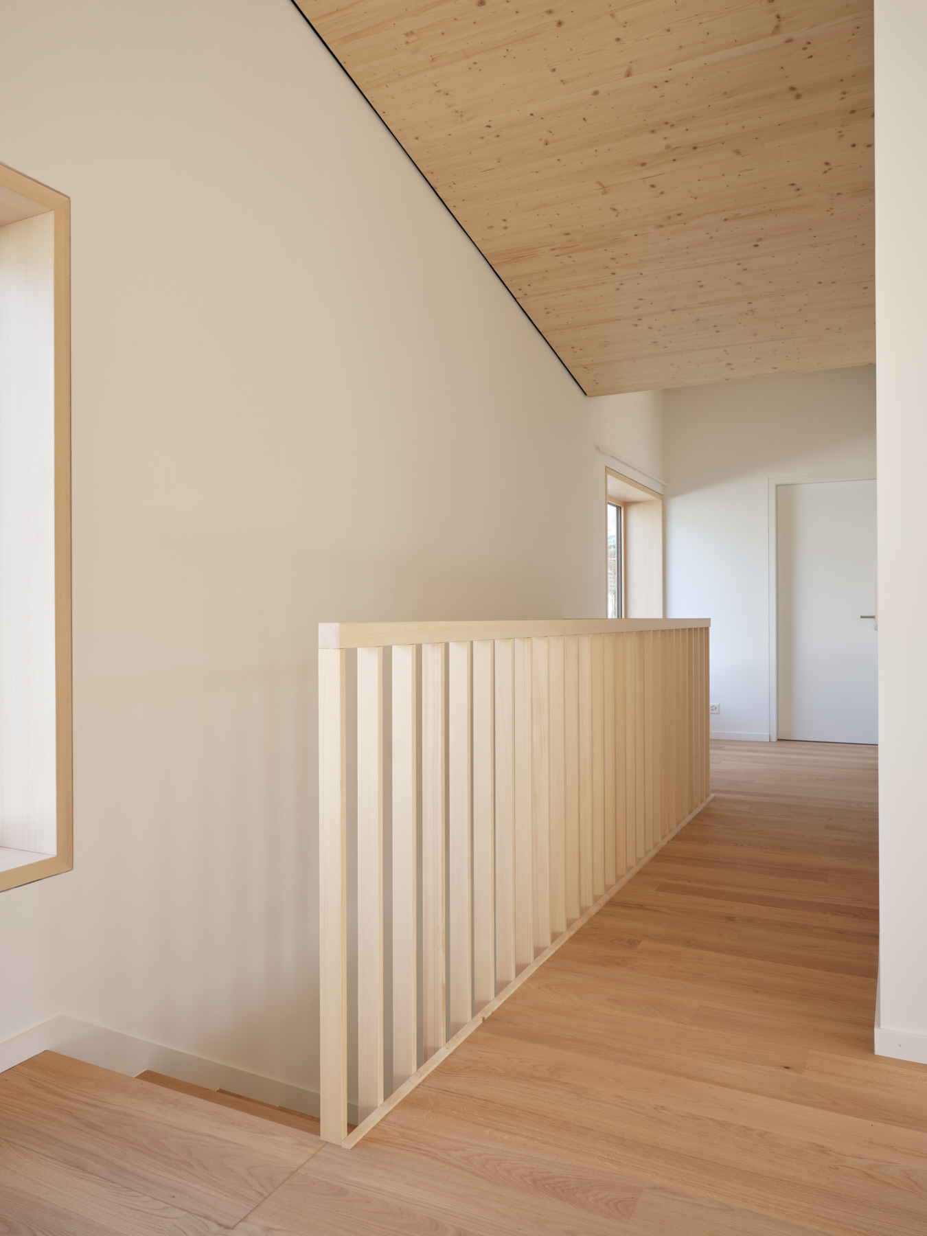 Maison R - hall - shape architecture