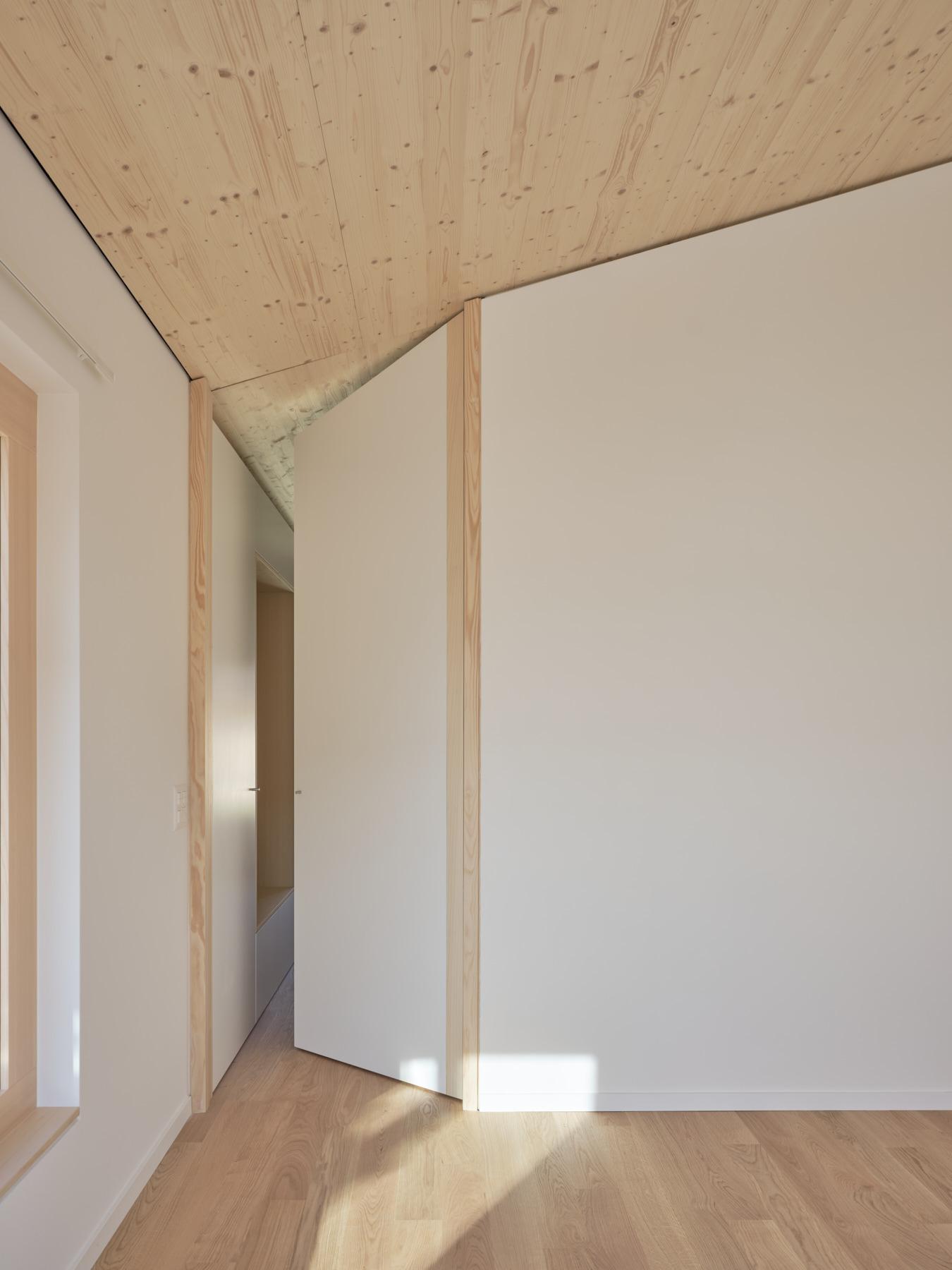 Maison R - chambre - shape architecture