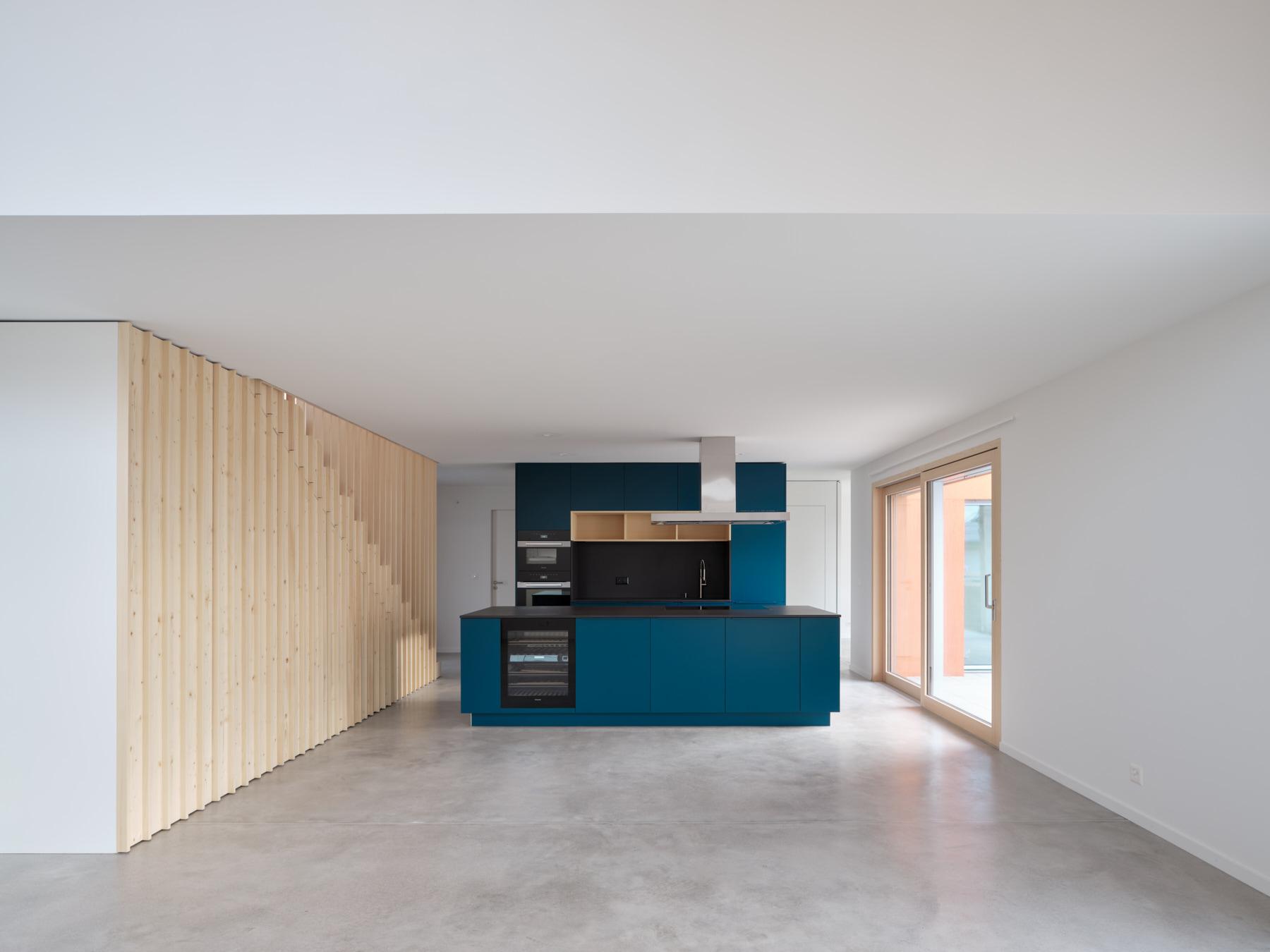 Maison R - pièce à vivre - shape architecture
