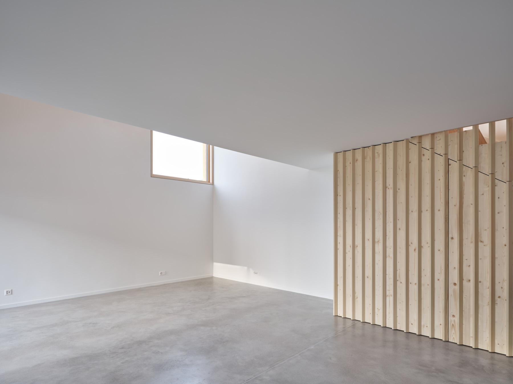 Maison R - séjour - shape architecture
