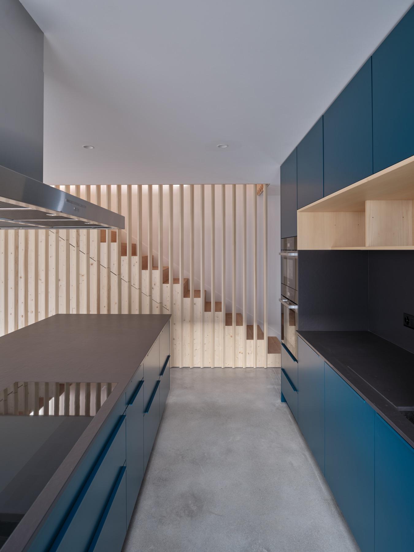 Maison R - cuisine - shape architecture