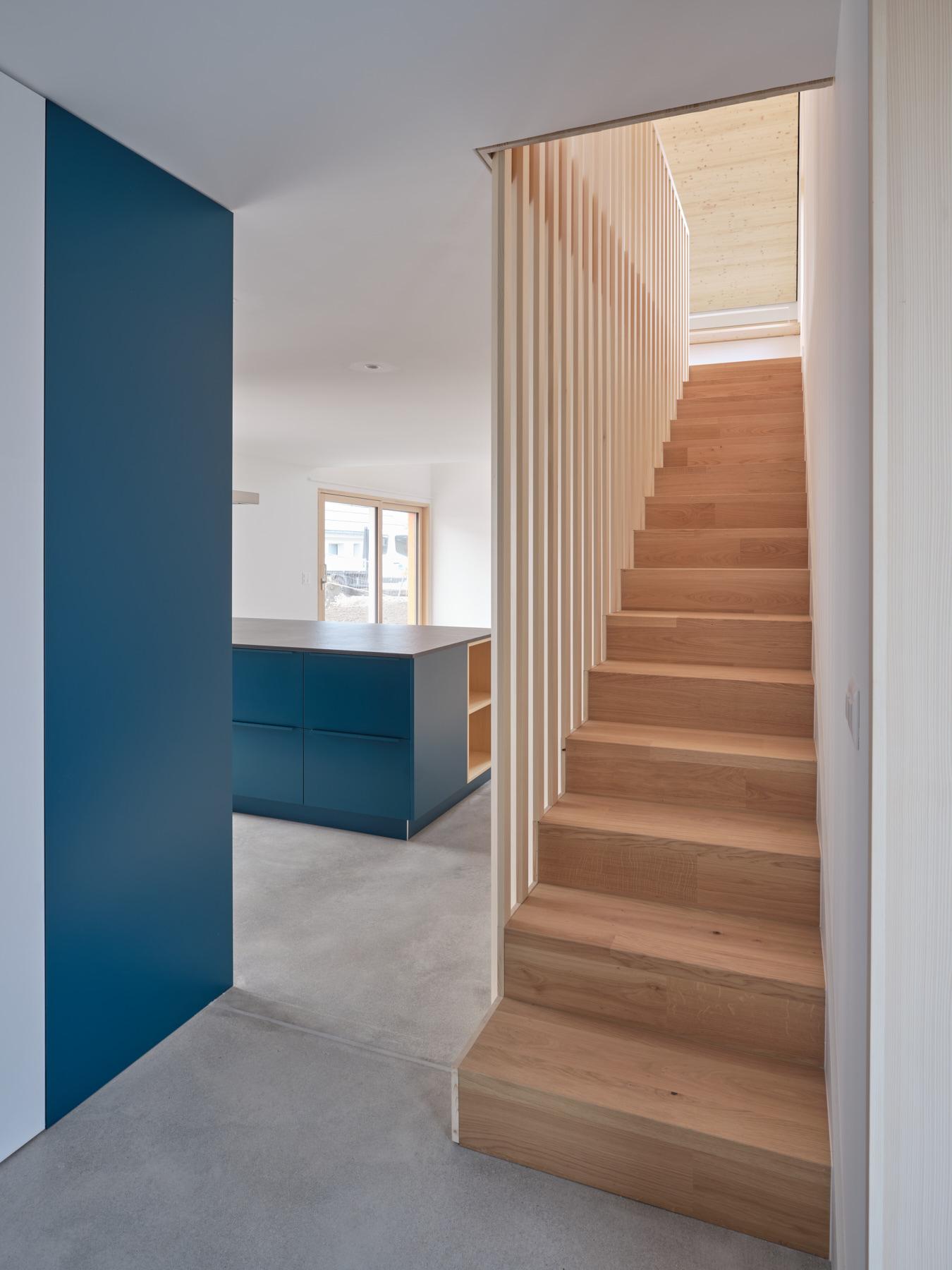Maison R - escalier - shape architecture