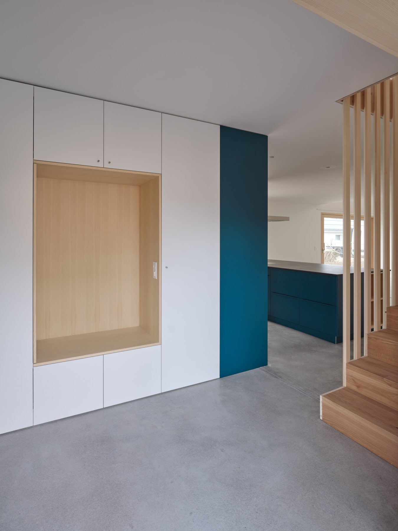 Maison R - entrée - shape architecture