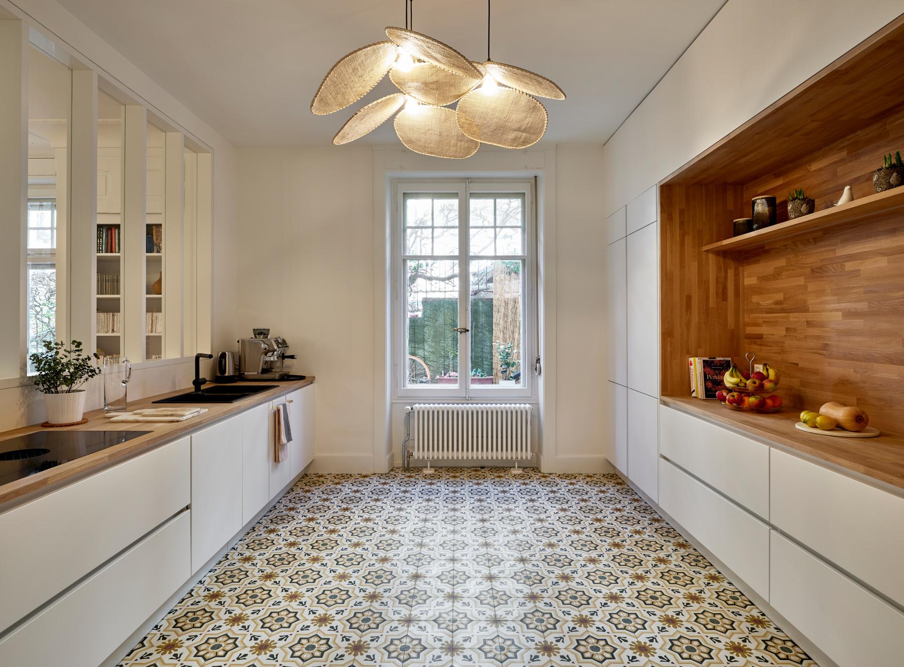 Transformations intérieures - cuisine - shape architecture - Lausanne