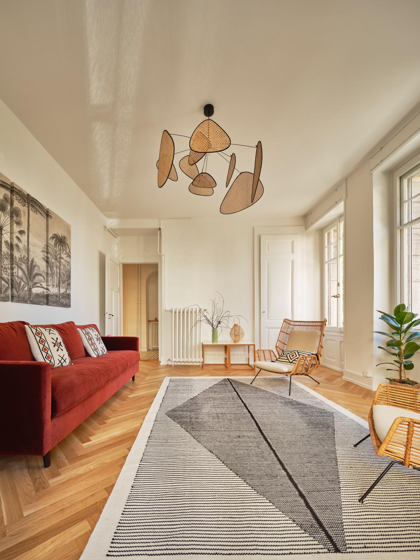 Transformations intérieures - chambre- shape architecture - Lausanne