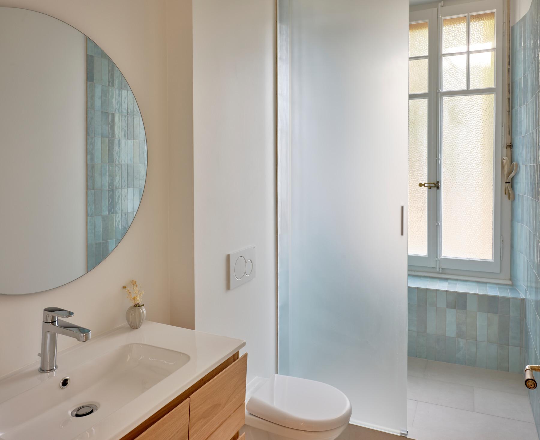 Transformations intérieures - salle de bain - shape architecture - Lausanne